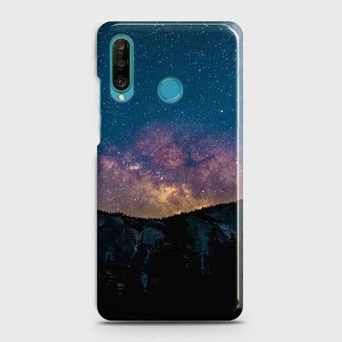 Embrace, Dark Galaxy 3D Trendy Case For Huawei P30 lite