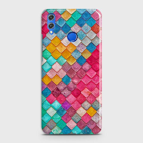Chic Colorful Mermaid 3D Case For Huawei P smart 2019
