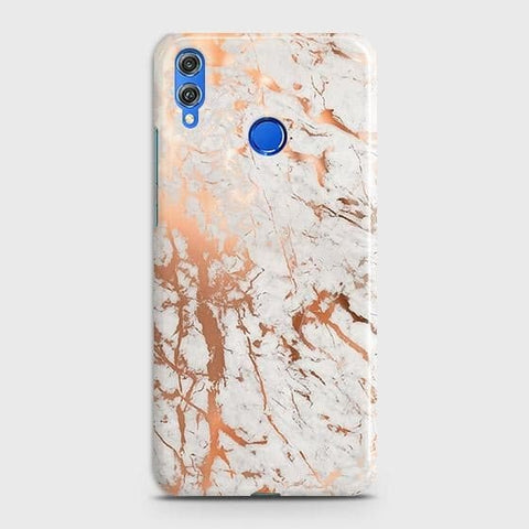 3D Print in Chic Rose Gold Chrome Style Case For Huawei P smart 2019