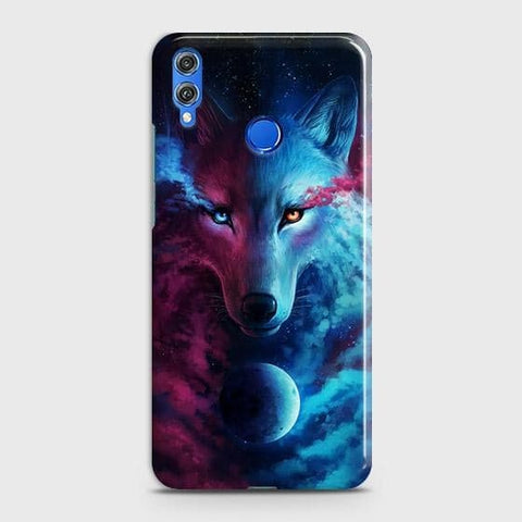 Infinity Wolf 3D Trendy Case For Huawei P smart 2019