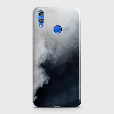 Trendy White Floor Marble Case For Huawei P smart 2019
