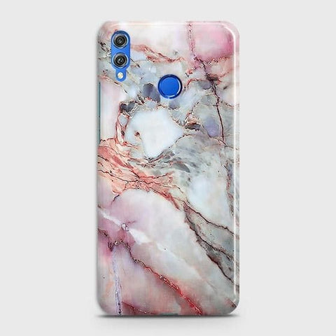 Violet Sky Marble 3D Trendy Case For Huawei P smart 2019