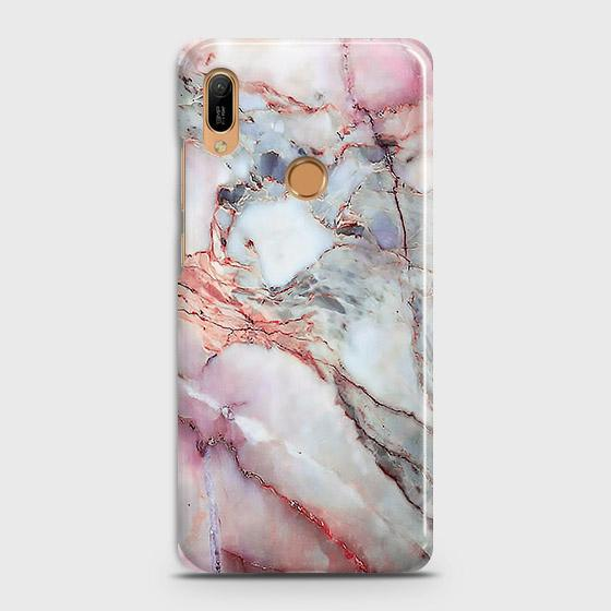 Violet Sky Marble 3D Trendy Case For Huawei Y6 Prime 2019