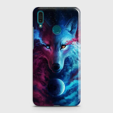 Infinity Wolf 3D Trendy Case For Huawei Y7 2019
