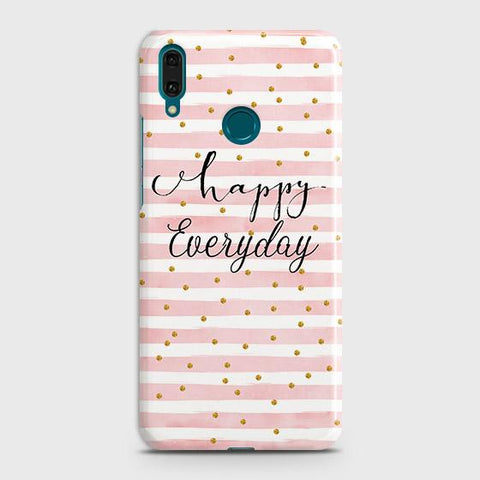Trendy Happy Everyday Case For Huawei Y7 2019