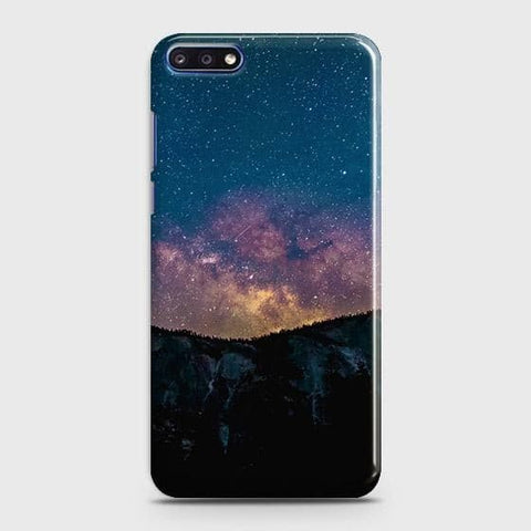 Embrace, Dark Galaxy 3D Trendy Case For Huawei Y7 Pro 2018