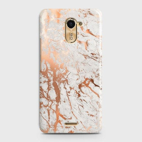 3D Print in Chic Rose Gold Chrome Style Case For Infinix Hot 4 / X557