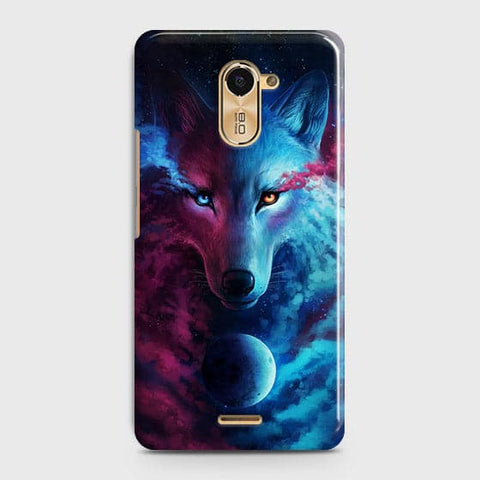 Infinity Wolf 3D Trendy Case For Infinix Hot 4 / X557