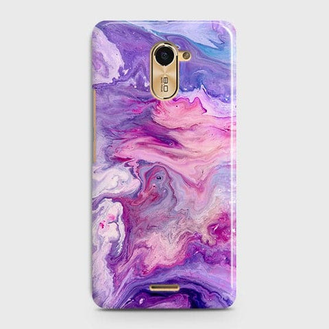 3D Chic Blue Liquid Marble Case For Infinix Hot 4 / X557