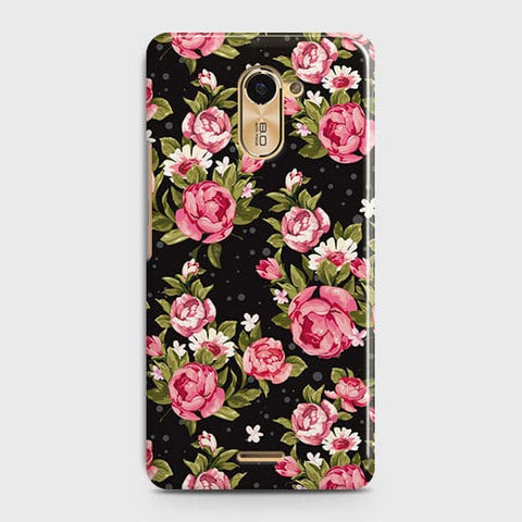 Trendy Pink Rose Vintage Flowers Case For Infinix Hot 4 / X557