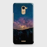 Infinix Hot 4 / Hot 4 Pro Cover - Embrace Dark Galaxy  Trendy Printed Hard Case with Life Time Colors Guarantee