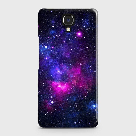 Infinix Note 4 / X572 Cover - Dark Galaxy Stars Modern Printed Hard Case with Life Time Colors Guarantee
