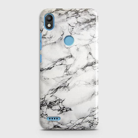 Trendy White Floor Marble Case For Infinix Smart 2 / X5515