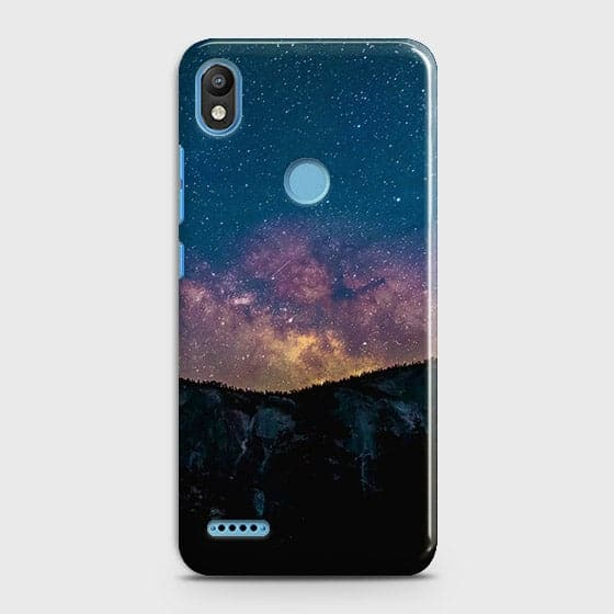 Infinix Smart 2 / X5515 Cover - Embrace Dark Galaxy  Trendy Printed Hard Case with Life Time Colors Guarantee
