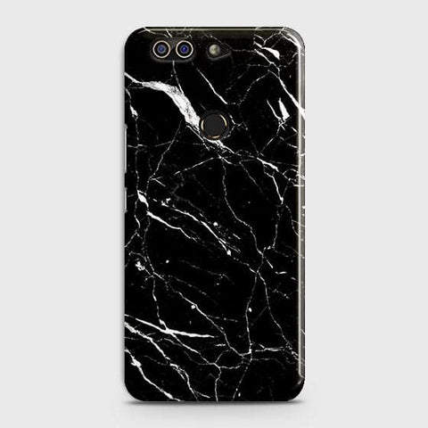 Trendy Black Marble Case For Infinix Zero 5