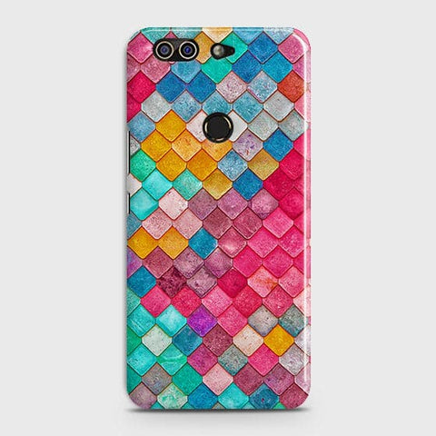 Chic Colorful Mermaid 3D Case For Infinix Zero 5