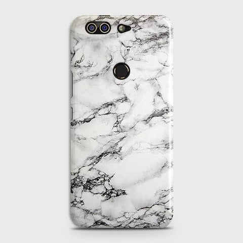 Trendy White Floor Marble Case For Infinix Zero 5