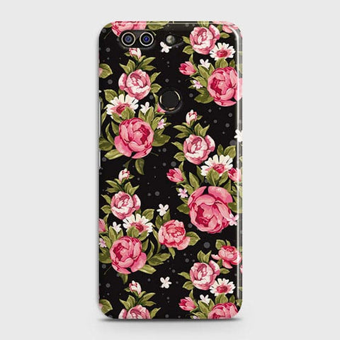 Trendy Pink Rose Vintage Flowers Case For Infinix Zero 5