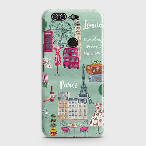 London, Paris, New York Modern Case For Infinix Zero 5