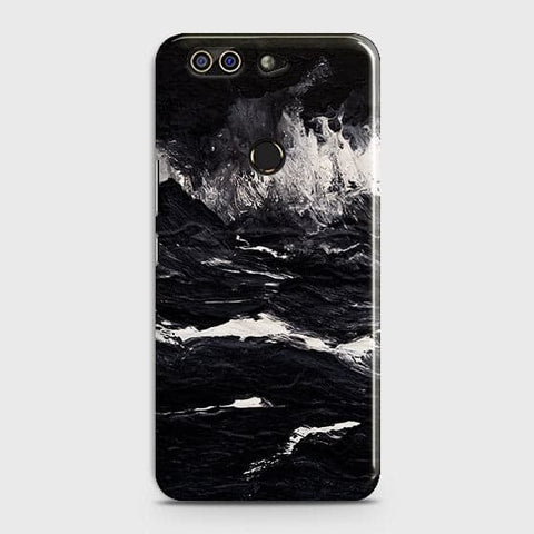 3D Black Ocean Marble Trendy Case For Infinix Zero 5