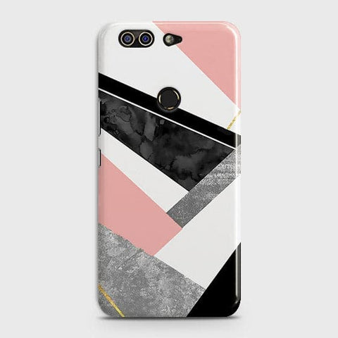 Geometric Luxe Marble Trendy Case For Infinix Zero 5