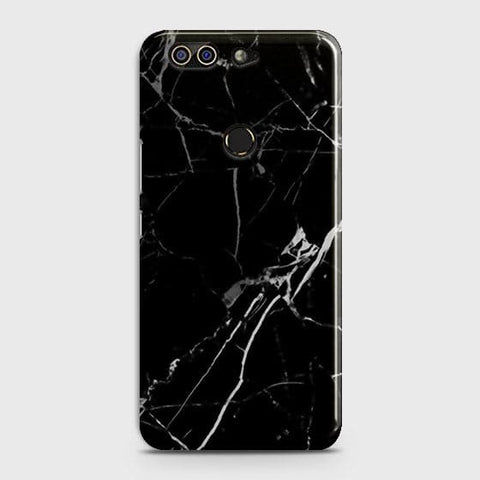 Printed Black Modern Classic Marble Case with Life Time Color Guarantee For Infinix Zero 5