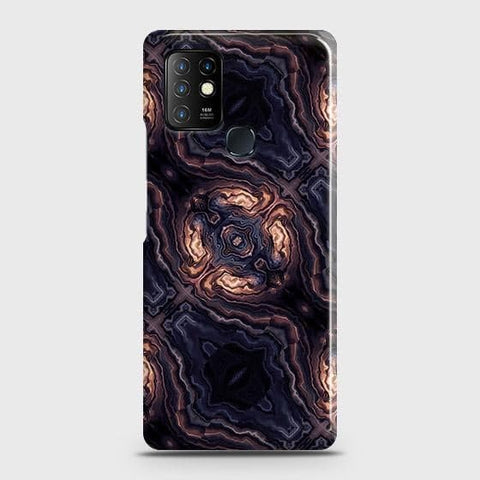 Infinix Hot 10 Cover - Source of Creativity Trendy Printed Hard Case with Life Time Colors Guarantee