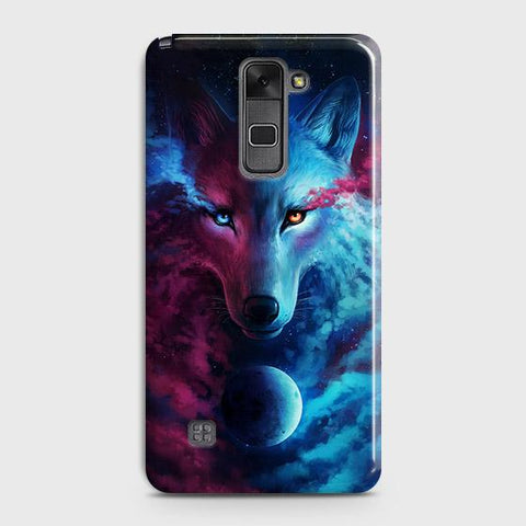 Infinity Wolf 3D Trendy Case For LG Stylus 2 / Stylo 2