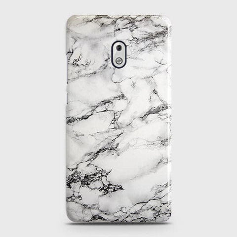 Trendy White Floor Marble Case For Nokia 2.1