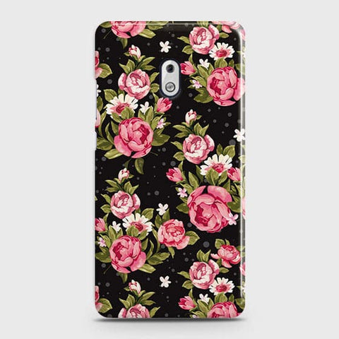 Trendy Pink Rose Vintage Flowers Case For Nokia 2.1