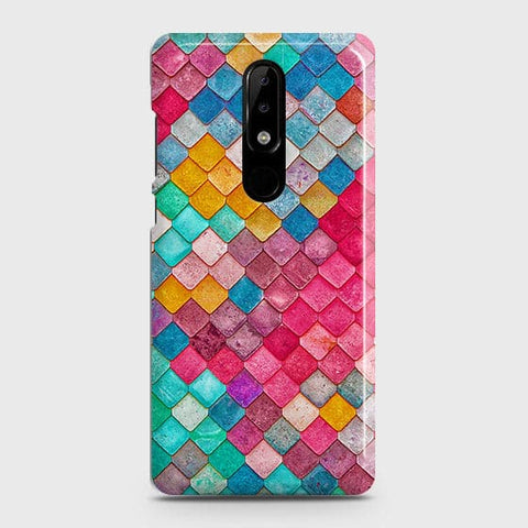 Chic Colorful Mermaid 3D Case For Nokia 5.1 Plus / Nokia X5