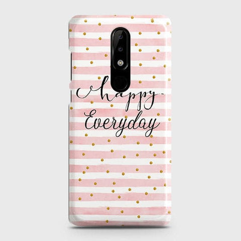 Trendy Happy Everyday Case For Nokia 5.1 Plus / Nokia X5