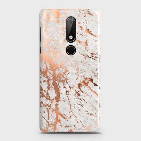 3D Print in Chic Rose Gold Chrome Style Case For Nokia 7.1