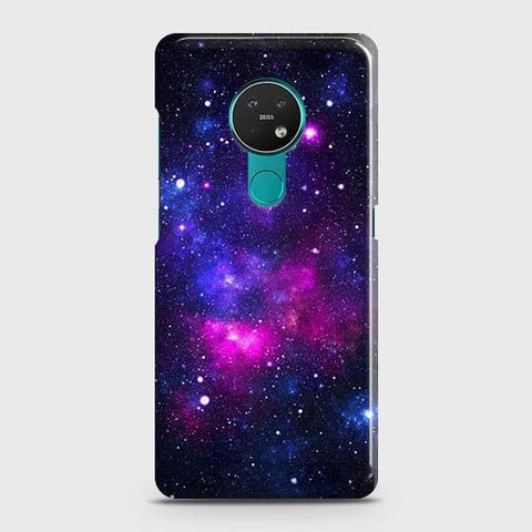 Nokia 6.2 Cover - Dark Galaxy Stars Modern Printed Hard Case with Life Time Colors Guarantee