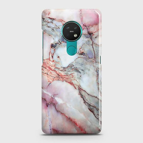 Nokia 6.2 Cover - Violet Sky Marble Trendy Printed Hard Case with Life Time Colors Guarantee