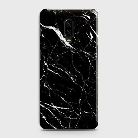 pretty nice d2643 43920 Trendy Black Marble Case For OnePlus 6T