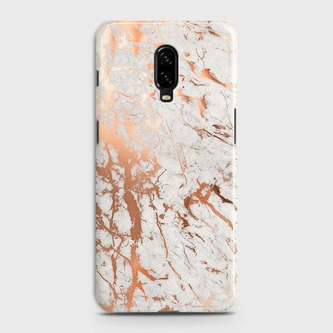 3D Print in Chic Rose Gold Chrome Style Case For OnePlus 6T