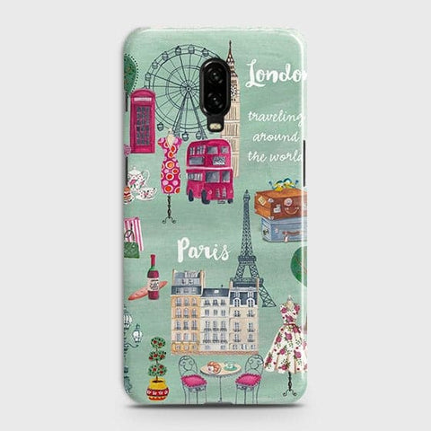 London, Paris, New York Modern Case For OnePlus 6T