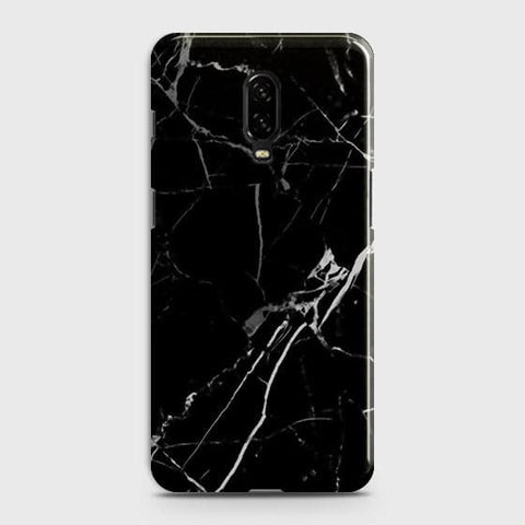 Black Modern Classic Marble Case For OnePlus 6T