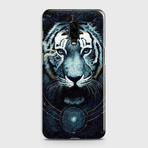Vintage Galaxy 3D Tiger Case For OnePlus 7