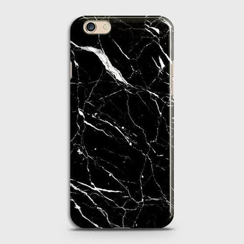 Trendy Black Marble Case For Oppo A59