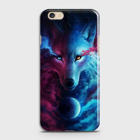 Infinity Wolf 3D Trendy Case For Oppo A59