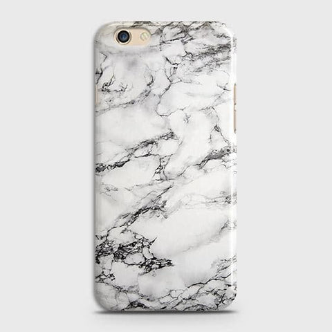 Trendy White Floor Marble Case For Oppo A59