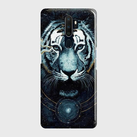 Vintage Galaxy 3D Tiger Case For Oppo A5 2020