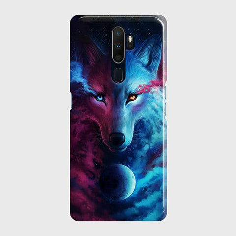 Infinity Wolf 3D Trendy Case For Oppo A5 2020