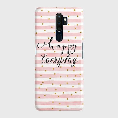 Trendy Happy Everyday Case For Oppo A5 2020
