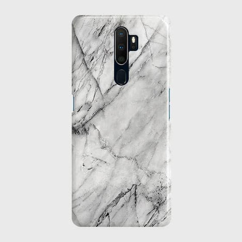 Trendy White Marble Case For Oppo A5 2020