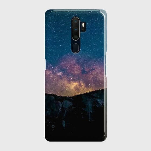 Embrace, Dark Galaxy 3D Trendy Case For Oppo A5 2020