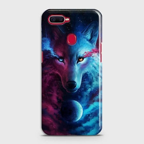 Infinity Wolf 3D Trendy Case For Oppo A5s