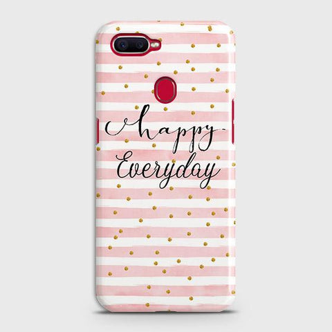 Trendy Happy Everyday Case For Oppo A5s